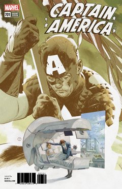 Captain America (2017 8th Series) #701B