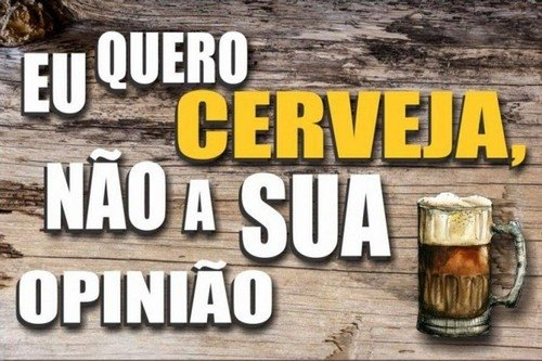 Quadro Bebidas 150 Cerveja Frases