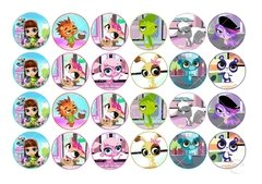 Lámina Littlest Pet Shop MI 3295