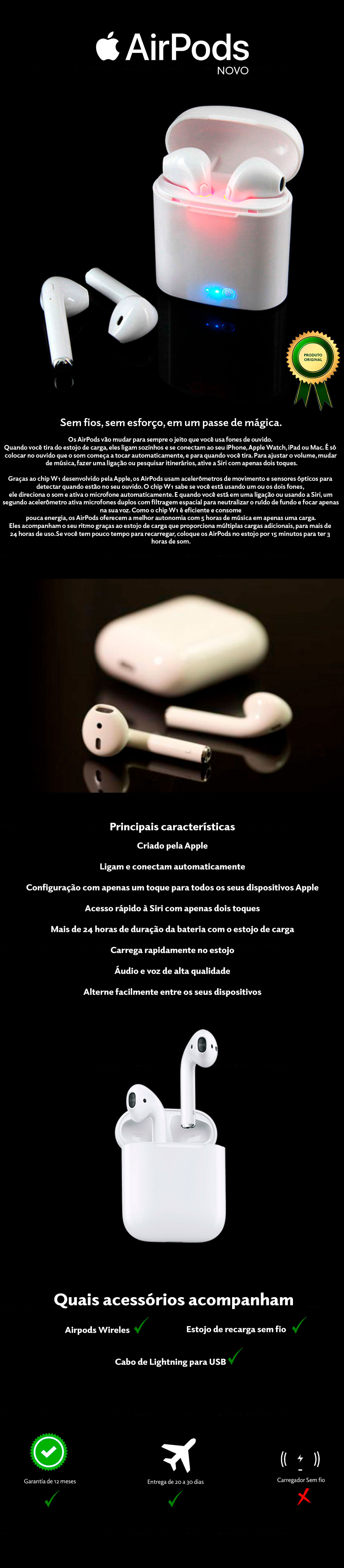 AirPods Wireless Apple