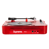 TOCA DISCOS - SUPREME NUMARK PT01 PORTABLE TURNTABLE RED