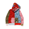 BLUSA BAPE XXV CITIES CAMO SHARK FULL ZIP DOUBLE HOODIE MULTI