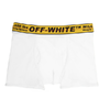 CUECA BOXER OFF-WHITE SINGLE PACK STRETCH COTTON BOXER BRIEFS