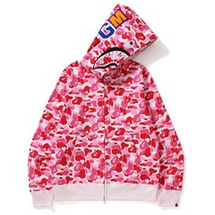 Moletom BAPE ABC Shark Full Zip Rosa