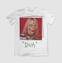 "CAMISETA BILLIE EILISH ""DUH"" - OFFBR - comprar online"