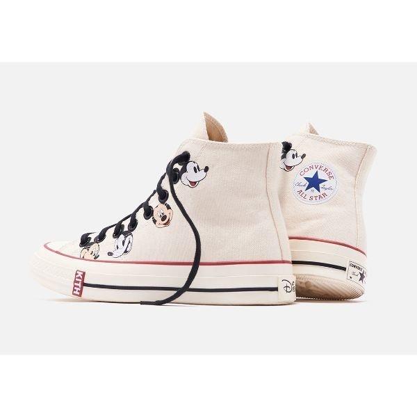 Converse Chuck Taylor All Star 70s Hi Kith x Disney Egret