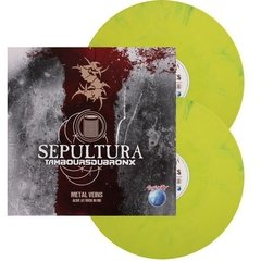 LP SEPULTURA METAL VEINS - ALIVE AT ROCK IN RIO - COLORIDO 180Gr