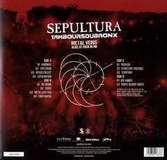 LP SEPULTURA METAL VEINS - ALIVE AT ROCK IN RIO - COLORIDO 180Gr - comprar online