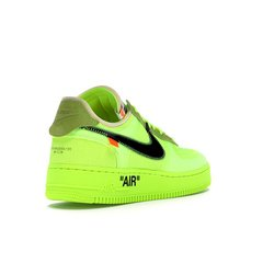 TÊNIS NIKE AIR FORCE 1 OFF-WHITE VOLT - comprar online