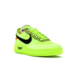 TÊNIS NIKE AIR FORCE 1 OFF-WHITE VOLT - OFFBR - Streetwear - The new hype is here - Supreme, Bape, Yeezy, Off-White e muito mais!