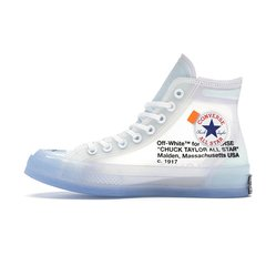 Tênis Converse Chuck Taylor All-Star Vulcanized Hi OFF-WHITE na internet
