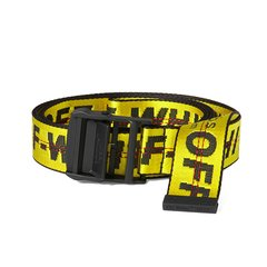 Cinto OFF-WHITE Industrial Amarelo