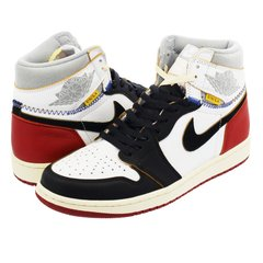 TÊNIS UNION X AIR JORDAN 1 RETRO HIGH OG NRG BLANCHE/ROUGE-GRISE-NOIR na internet