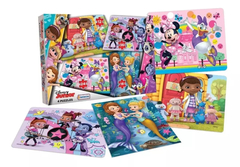 4 PUZZLES DISNEY JUNIOR
