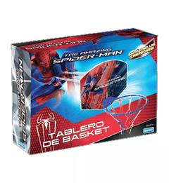 TABLERO BASQUET 60*45 SPIDERMAN