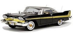 Motormax 1/18 1958 Plymouth Fury Black