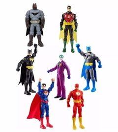 Muñecos Liga Batman Flash Superman Joker Mattel
