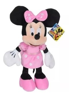 Minnie Mouse Peluche Original Disney Grande 35 Cm Wabro