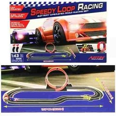 Pista De Autos Speedy Loop Racing- 4.3m Scalextric