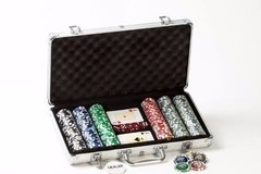 Poker Fichero Old Player 300 Fichas Laser Numeradas C/cartas - comprar online