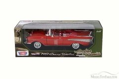 Motormax 1/18 Chevrolet Bel Air Convertible 1957