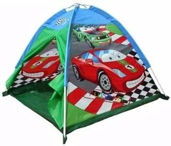 Casita Carpa Infantil Autos Modelo Car Racing 8330 Iplay