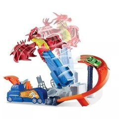 Hot Wheels City Pista Dragon Explosivo  Art Dwl04  Original  en internet