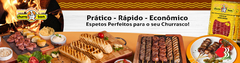 Banner da categoria Espetos de Queijo