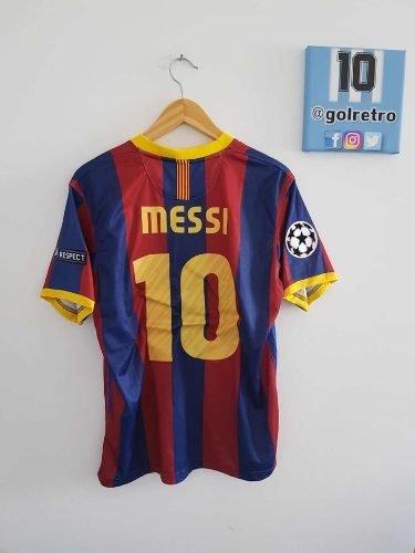 e0375f5f1ab4d Camiseta Barcelona Messi Final Londres 2011 Uefa Retro
