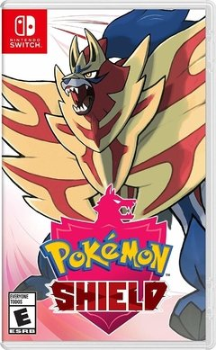 JUEGO POKEMON SHIELD- NINTENDO SWITCH