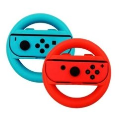 Nintendo Switch Joy Con Rueda Neon Mario Bros Kart