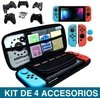 Nintendo Switch Mayflash + Estuche +templado + Cubre Joy Con