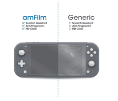 Amfilm X2 Film Glass Vidrio Templado Nintendo Switch Lite en internet