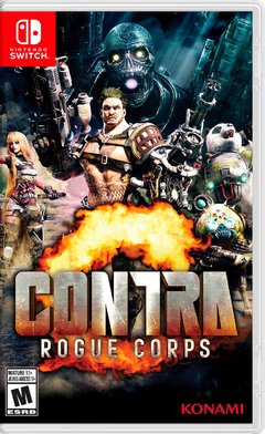 Contra: Rogue Corps Nintendo Switch