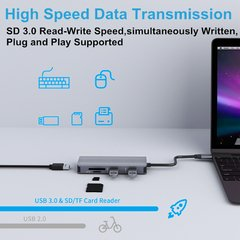 Adaptador 9 en 1 - Hub USB Tipo C para Macbook Air - comprar online