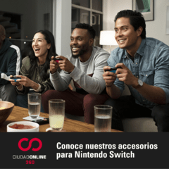 Kit 3 Accesorios Nintendo Switch: Funda + Vidrio Templado + Cubre Joy Con