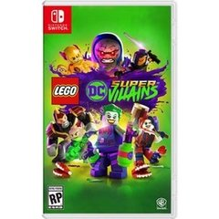 LEGO DC Super Villains Nintendo Switch