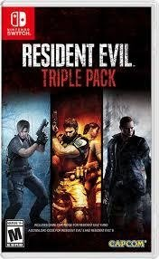 Resident Evil Triple Pack Nintendo Switch