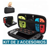 Kit Nintendo Switch Funda  Usb Vidrio Templado y Playstand