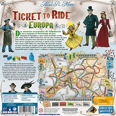 Ticket to Ride Europa - comprar online