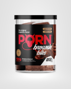 PornBrownie Bites com Best Whey 100g