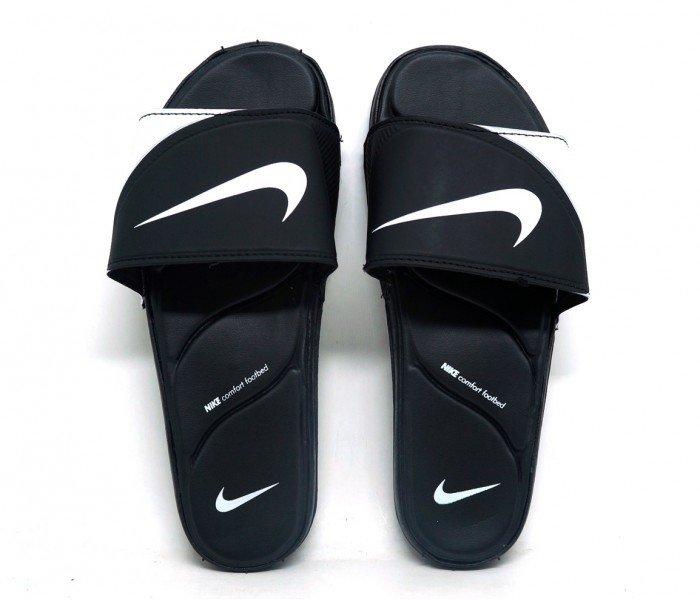 7b6108d48 Chinelo Nike Kawa Slide Branco e Preto - Traz pra mim