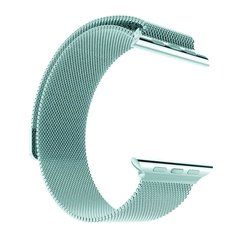 Pulseira Milanese azul Tiffanny Para Apple Watch 38mm 40mm 42mm 44mm Aço Inoxidavel na internet