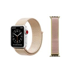 Pulseira Rosa Vintage Nylon Loop Apple Watch 38mm 40mm 42mm 44mm - comprar online