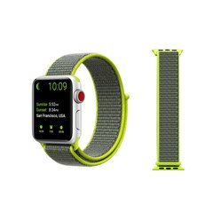 Pulseira Verde-Volt Nylon Loop Apple Watch 38mm 40mm 42mm 44mm - comprar online