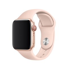 PULSEIRA ROSA AREIA PARA APPLE WATCH 38MM 40MM 42MM 44MM SERIES 1, 2, 3, 4 E 5.
