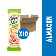 CEREAL MIX YOGHURT FRUTILLA LIGHT - PACK DE 10 UNIDADES