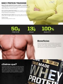 WHEY PROTEIN TRUE MADE en internet