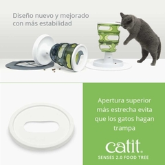 Catit Senses 2.0 Food Tree - Kawellu Veterinaria Integral