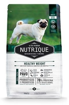 Nutrique Healthy weight dog x3kg